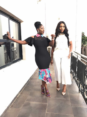 mercy johnson and ebube nwagbo