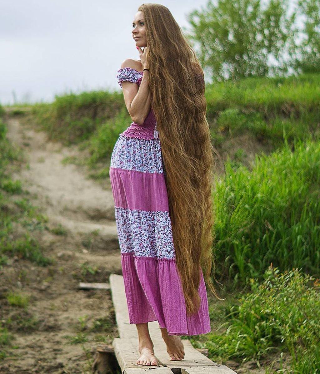 "Meet Daria Gubanova, also known as ""Rapunzel"""