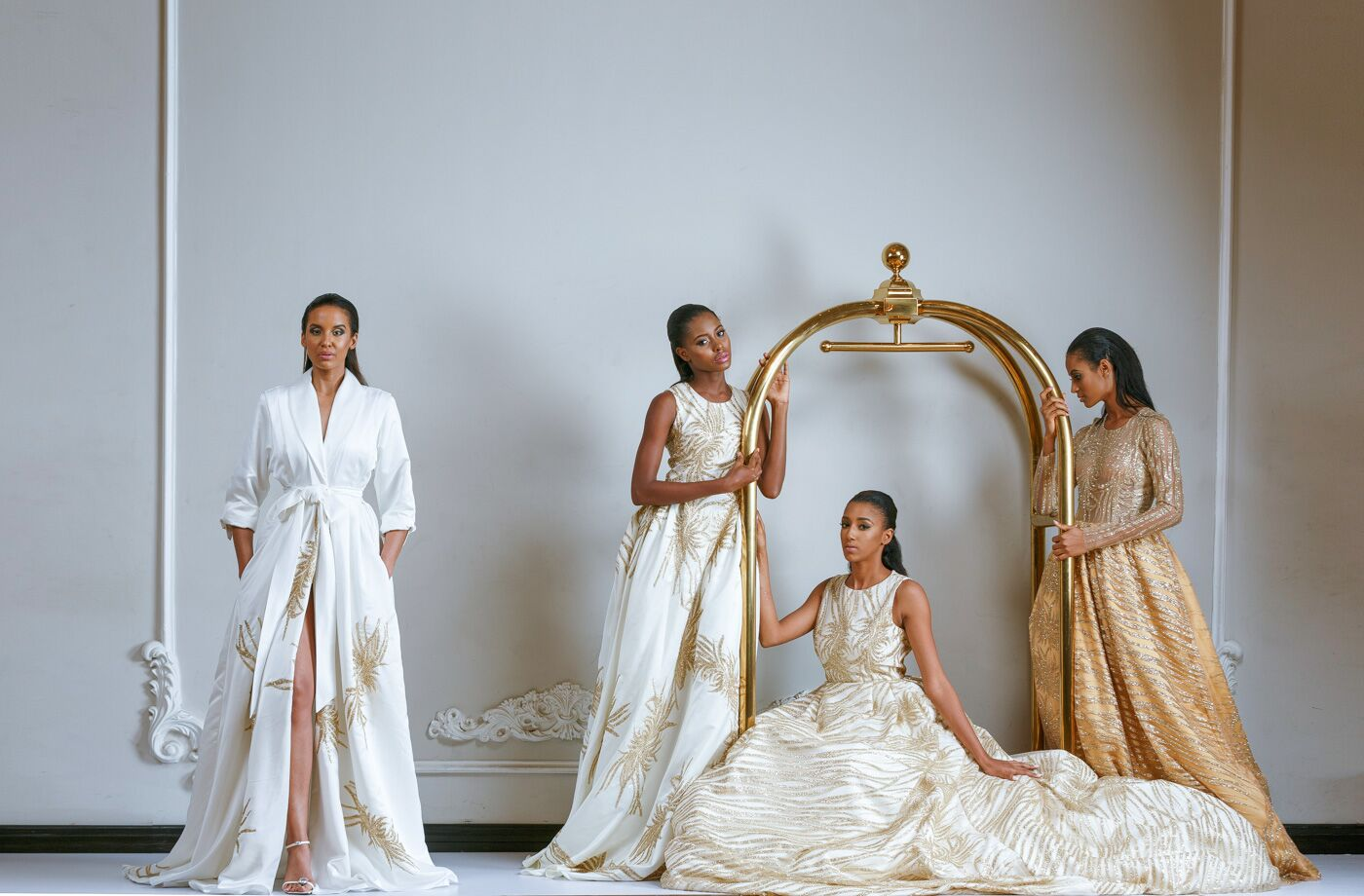 Kach Me If You Can! Kanayo Ebi adds Chidinma Obairi Pieces to her New York Showroom