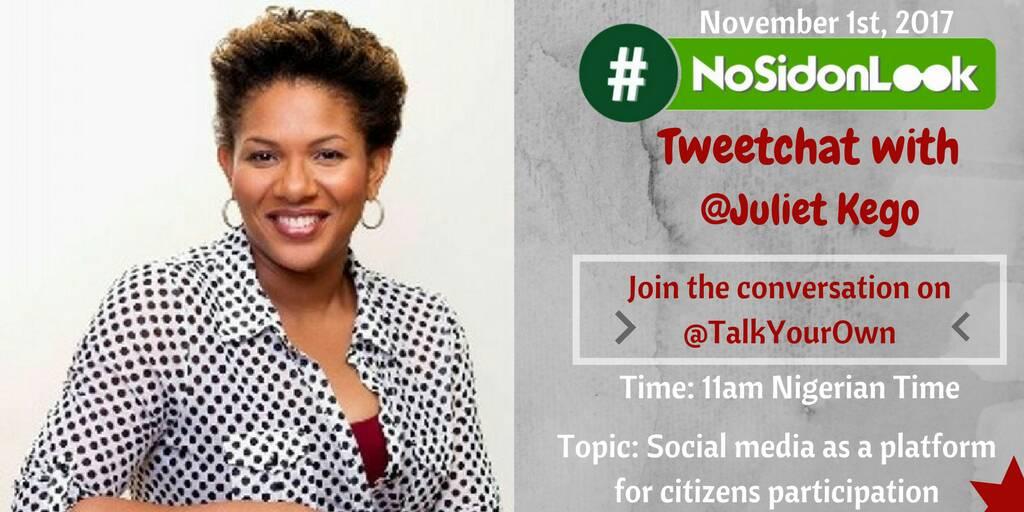 BBC Media Action Nigeria presents Online Conversation How We #NoSidonLook