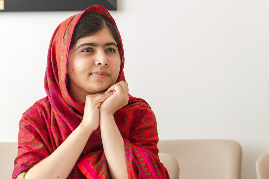 Malala Yousafzai discusses role of men in her movement