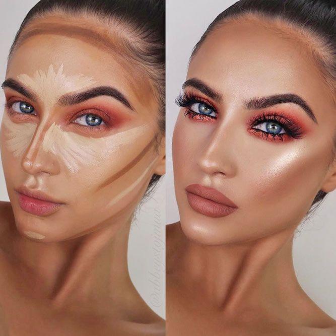 Facial Contouring Makeup