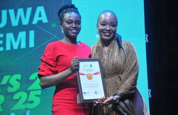 Winners of 2018 SME 100 Nigeria 25 Under 25 Awards