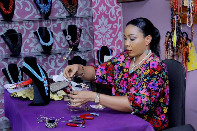 Mrs Bimbo Balogun, CEO, Bimbeads Concept, is the Nigerian woman who sold two necklaces and never looked back