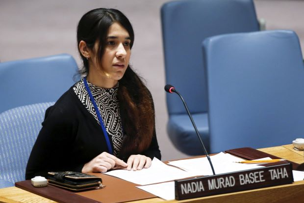 How Nobel Peace Prize Winner, Nadia Murad Escaped After Being Kidnapped By ISIS