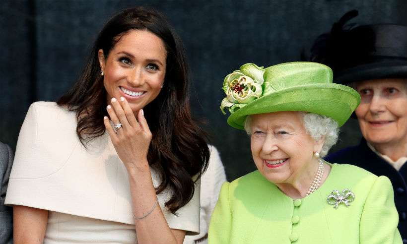 meghan markle and queen
