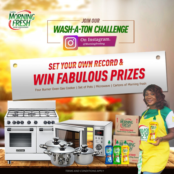 Participate in the Morning Fresh Wash-A-Ton Challenge