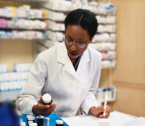 consulting a pharmacist
