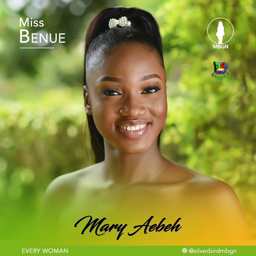 Miss Benue MBGN 2019 Mary Aebeh