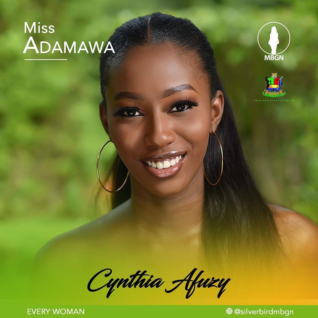 Miss Adamawa MBGN 2019 Cynthia Afuzy