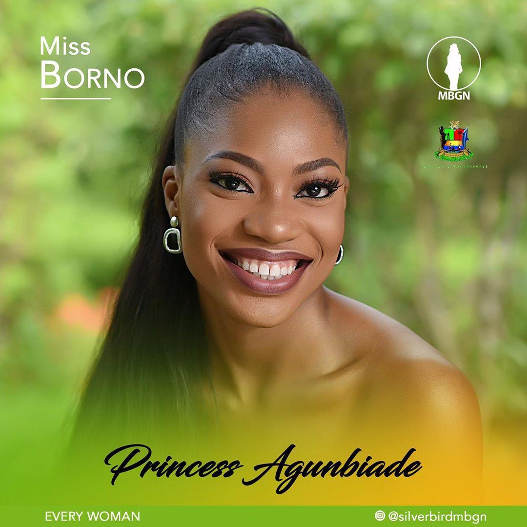 Miss Borno MBGN 2019 Princess Agunbiade