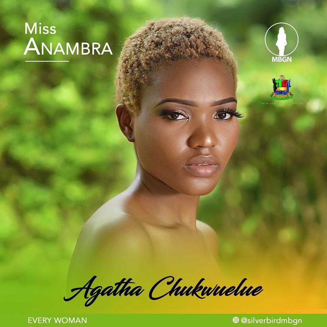 Miss Anambra MBGN 2019 Agatha Chukwulue