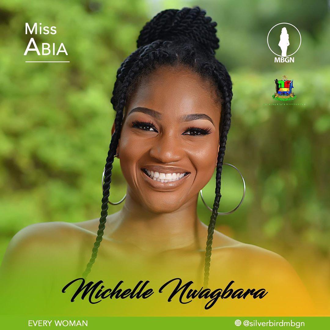 Miss Abia MBGN 2019 Michelle Nwagbara