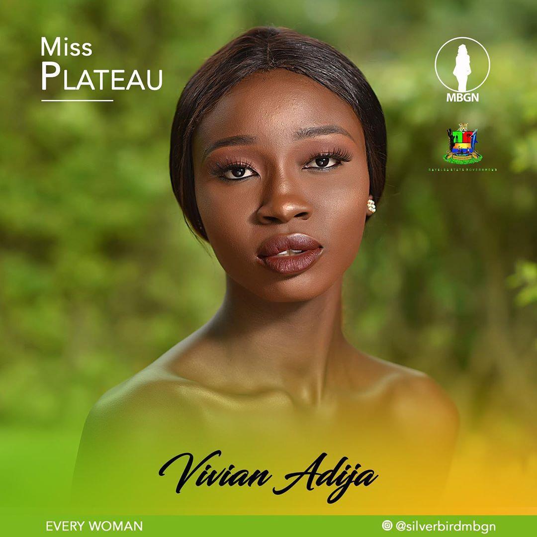 Miss Plateau MBGN 2019 Vivian Adija