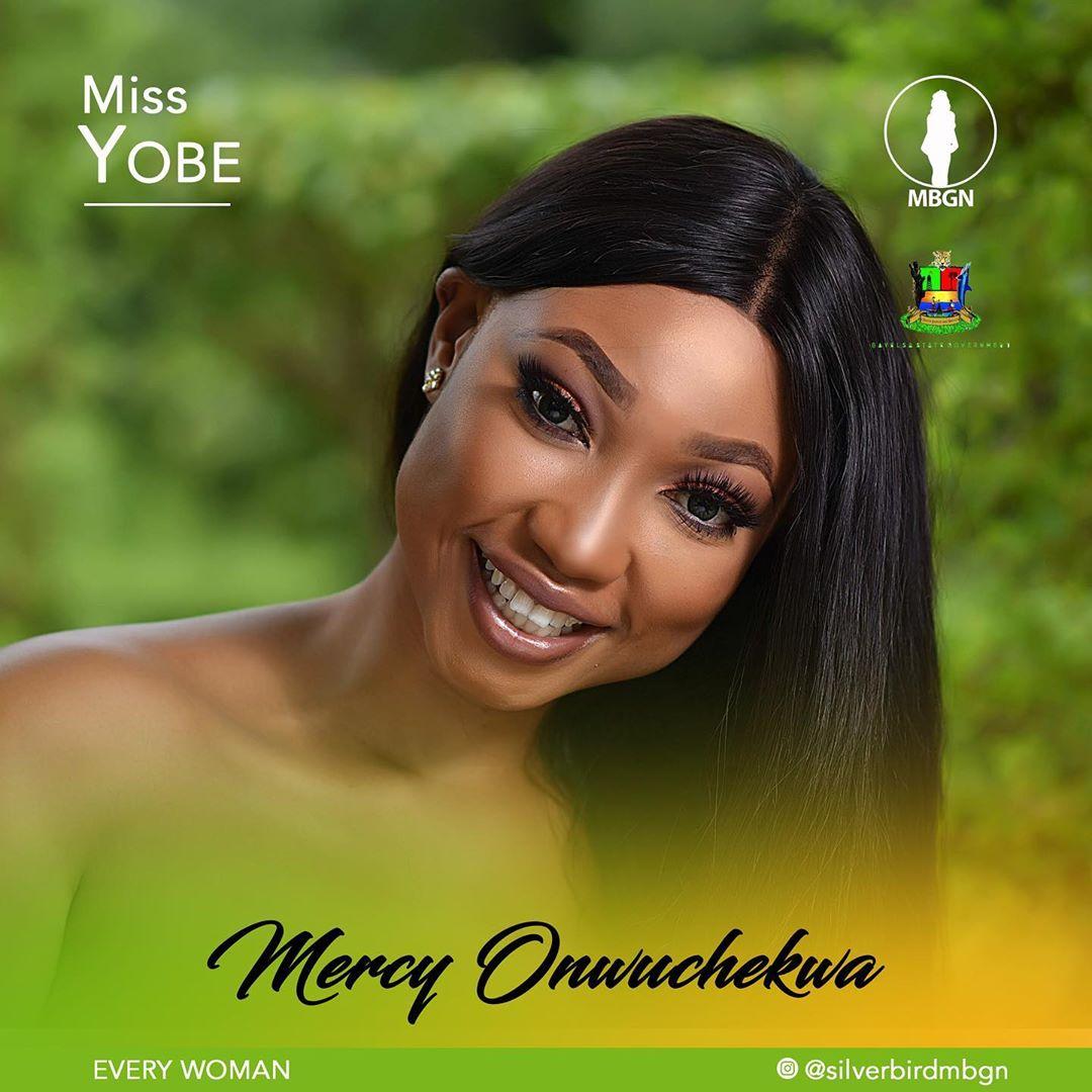 Miss Yobe MBGN 2019 Mercy Onwuchekwa