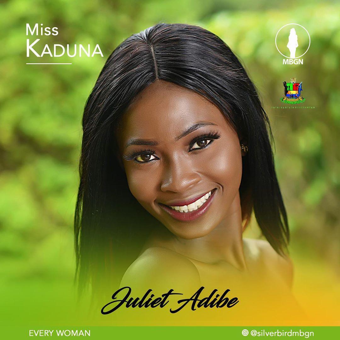 Miss Kaduna MBGN 2019 Juliet Adibe