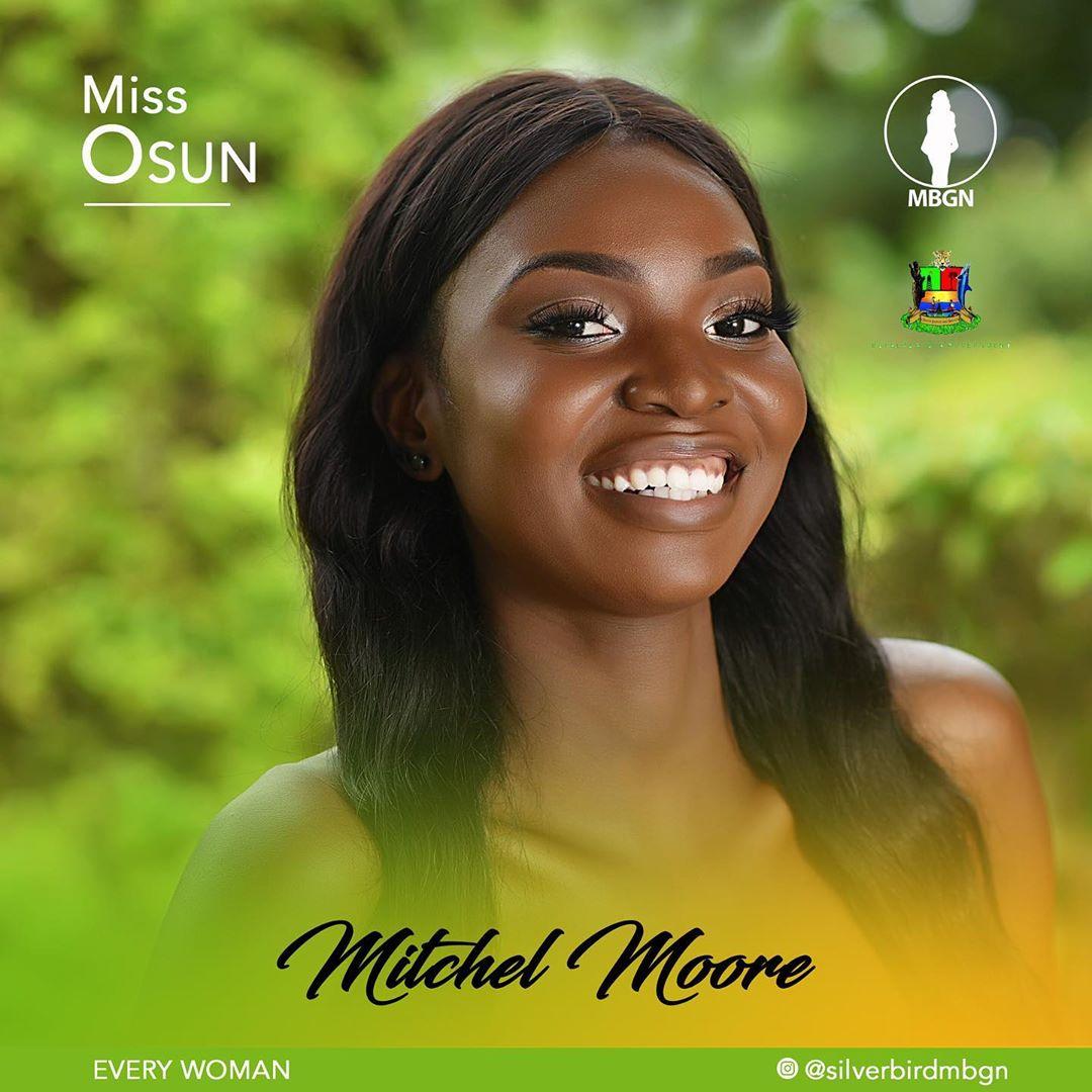Miss Osun MBGN 2019 Mitchel Moore