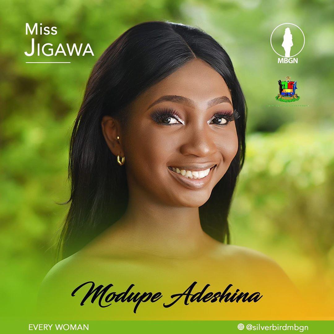 Miss Jigawa MBGN 2019 Modupe Adeshina