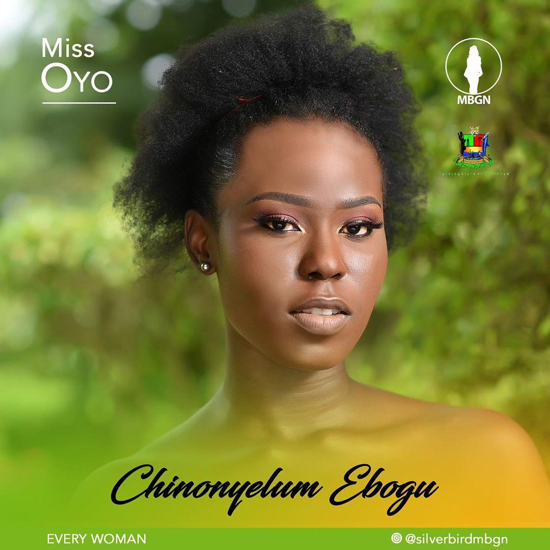 Miss Oyo MBGN 2019 Chinonyelum Ebogu