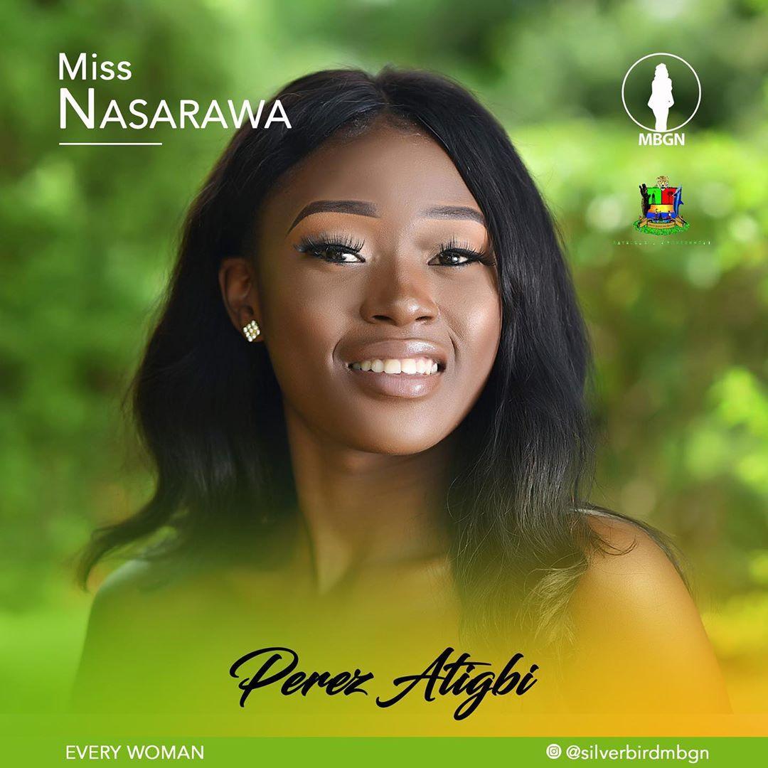 Miss Nasarawa MBGN 2019 Perez Atigbi
