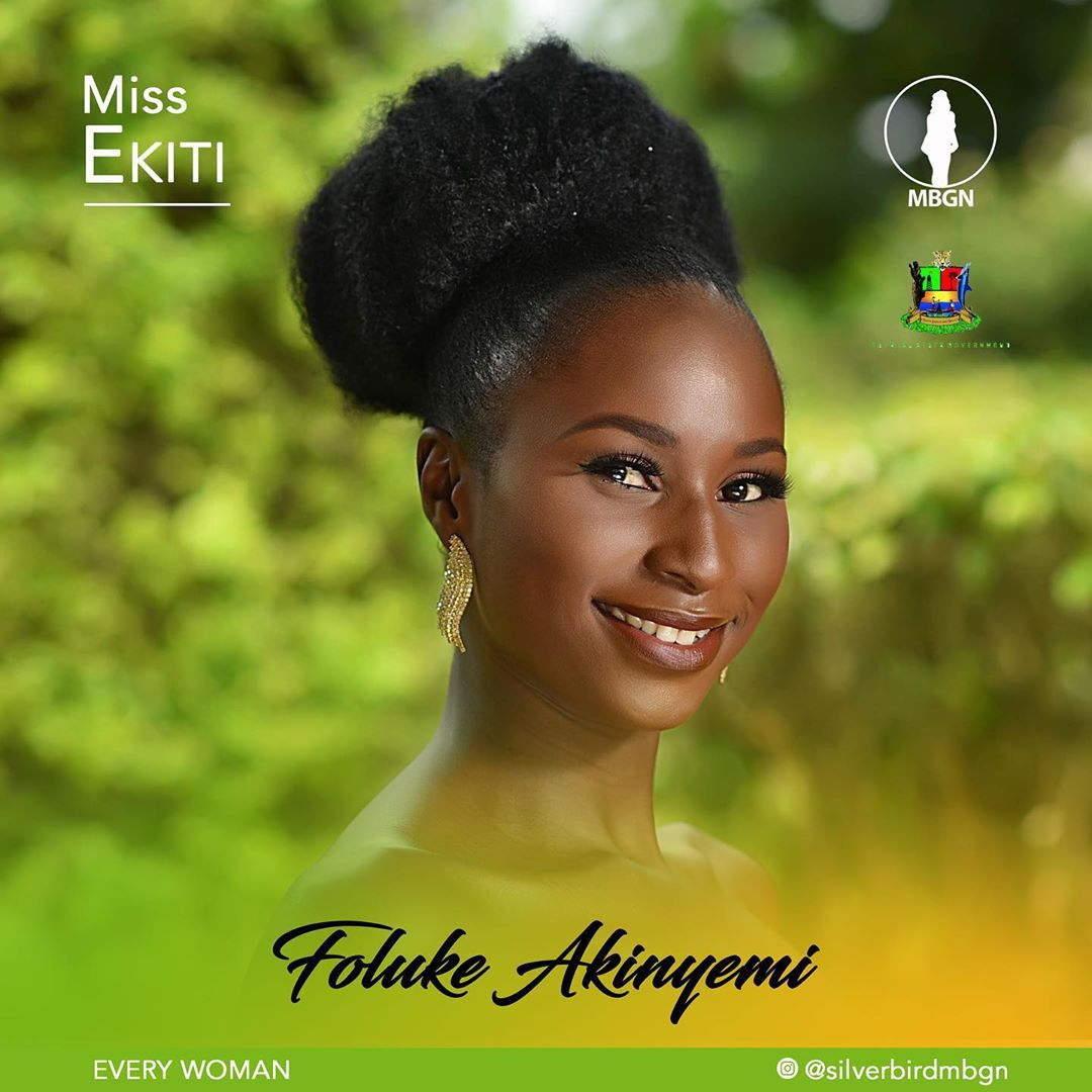 Miss Ekiti MBGN 2019 Foluke Akinyemi