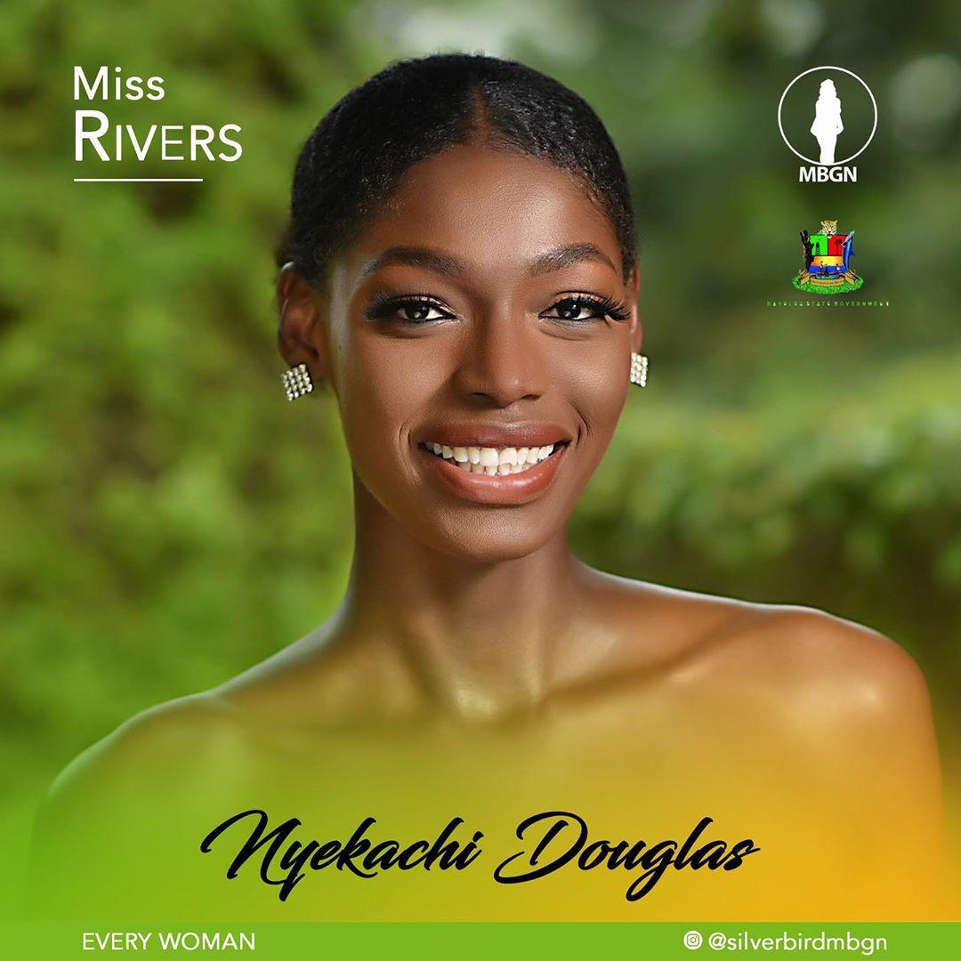 Miss Rivers MBGN 2019 Nyekachi Douglas