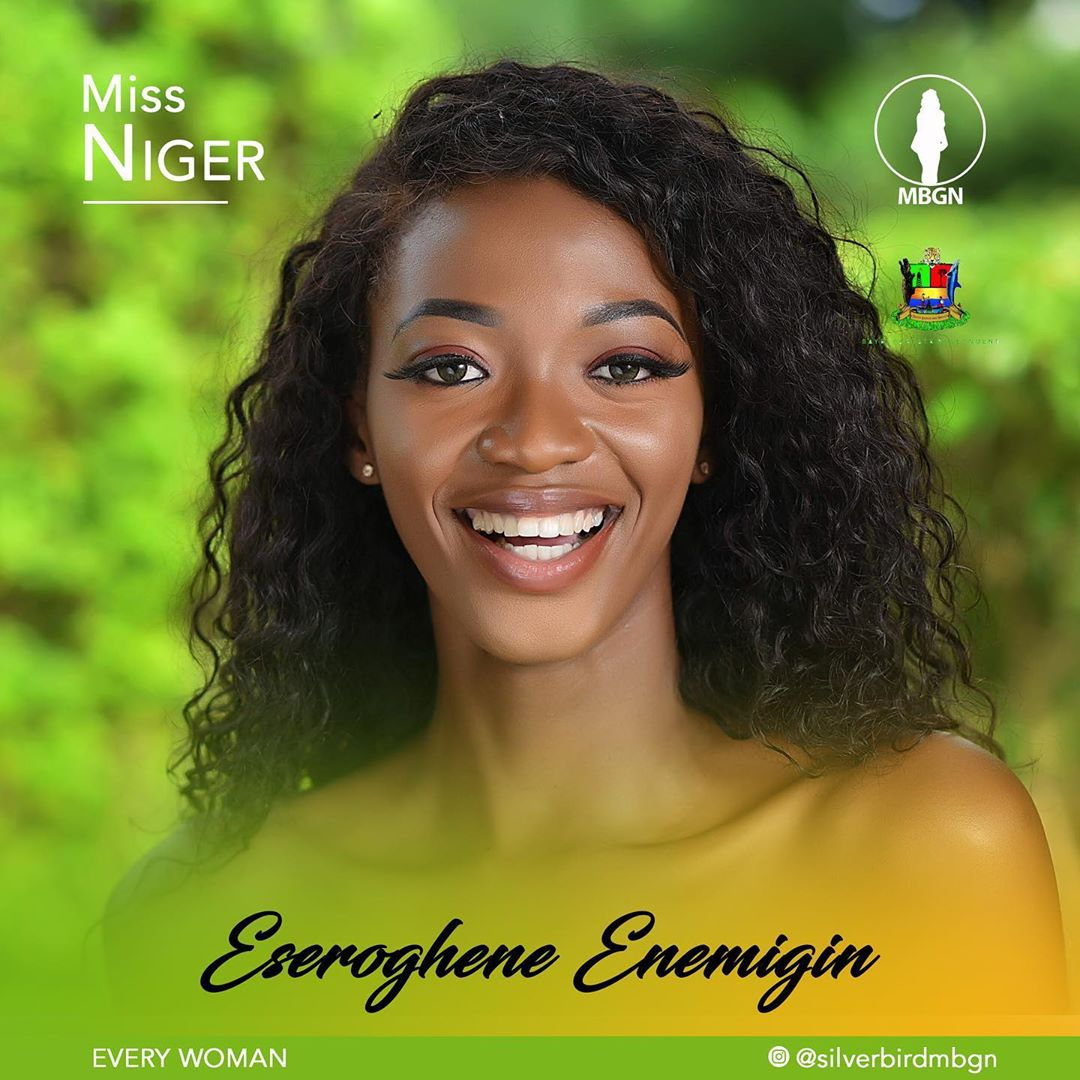 Miss Niger MBGN 2019 Eseroghene Enemigin