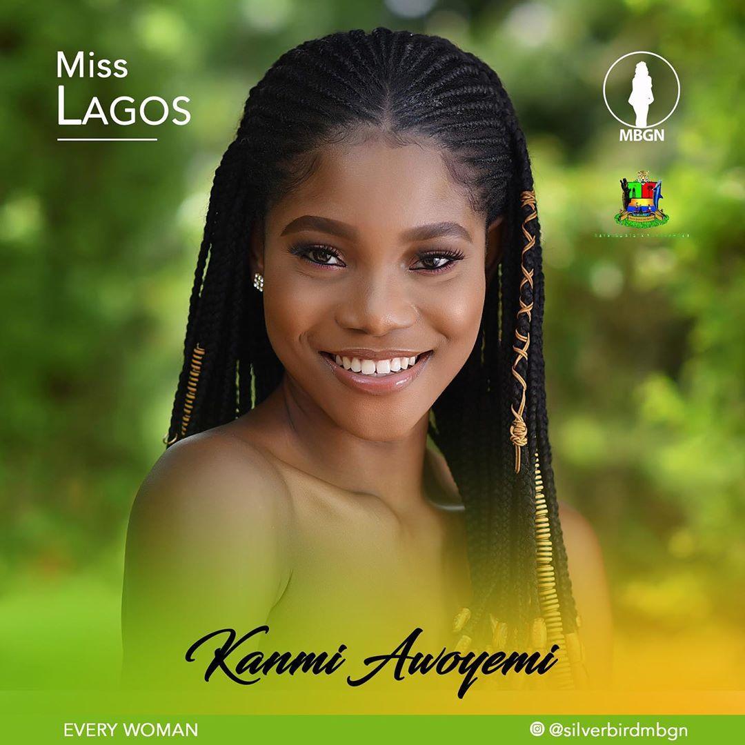 Miss Lagos MBGN 2019 Kanmi Awoyemi
