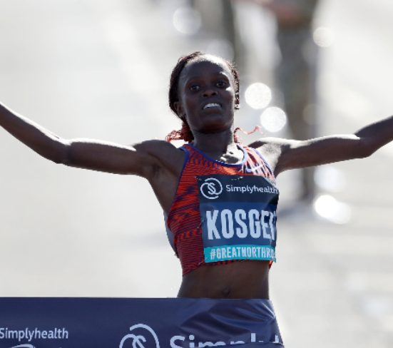 Kenya's Brigid Kosgei breaks Paula Radcliffe's 16-year record to win the 2019 Chicago Marathon