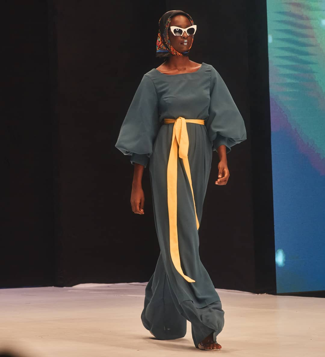 House Of Kaya Ng AT Lagos Fashion Week