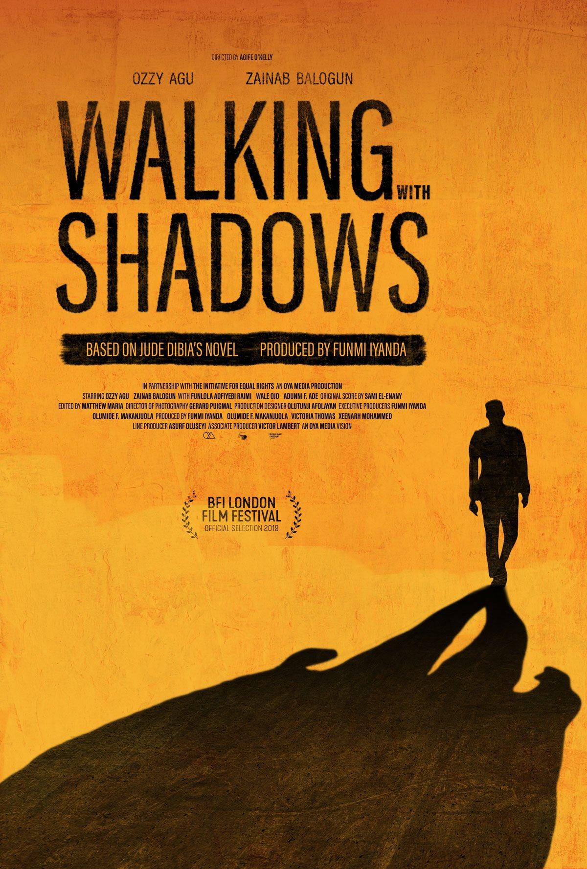 Funmi Iyanda's Debut Movie 'Walking with Shadows' Premieres at BFI London Film Festival