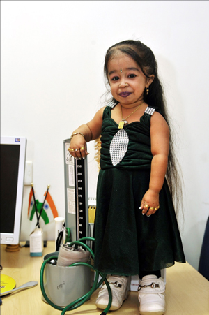 jyoti amge world smallest woman