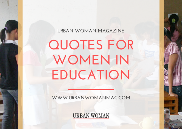10 Quotes For Women In Education