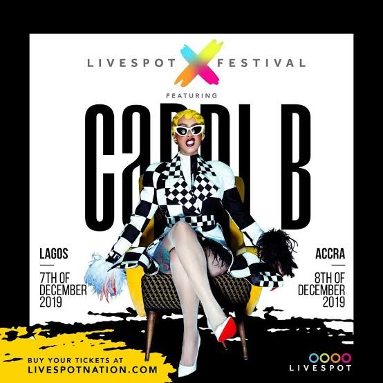 Cardi B Live In Lagos And Accra This December
