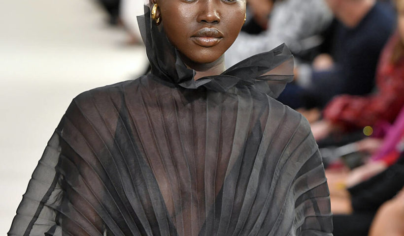 adut akech british fashion awards