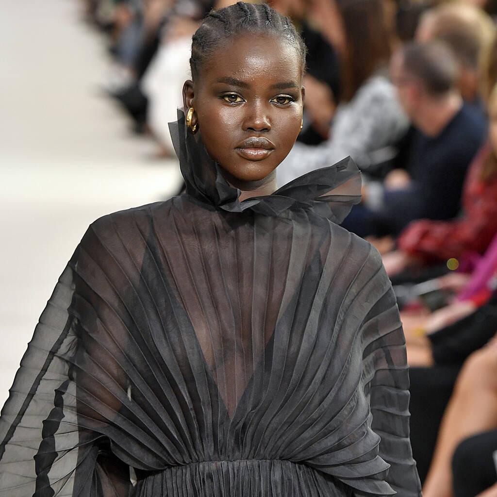 adut akech british fashion awards