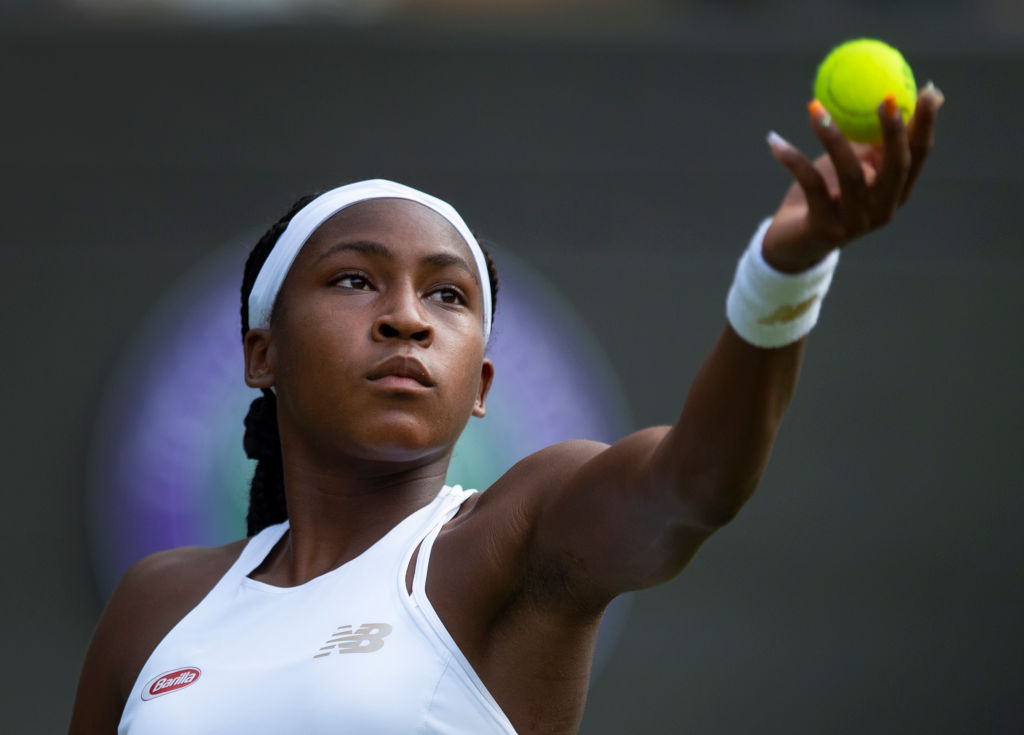 15-year-old Coco Gauff has defeated defending Australian Open champ and world No. 3 Naomi Osaka in straight sets.