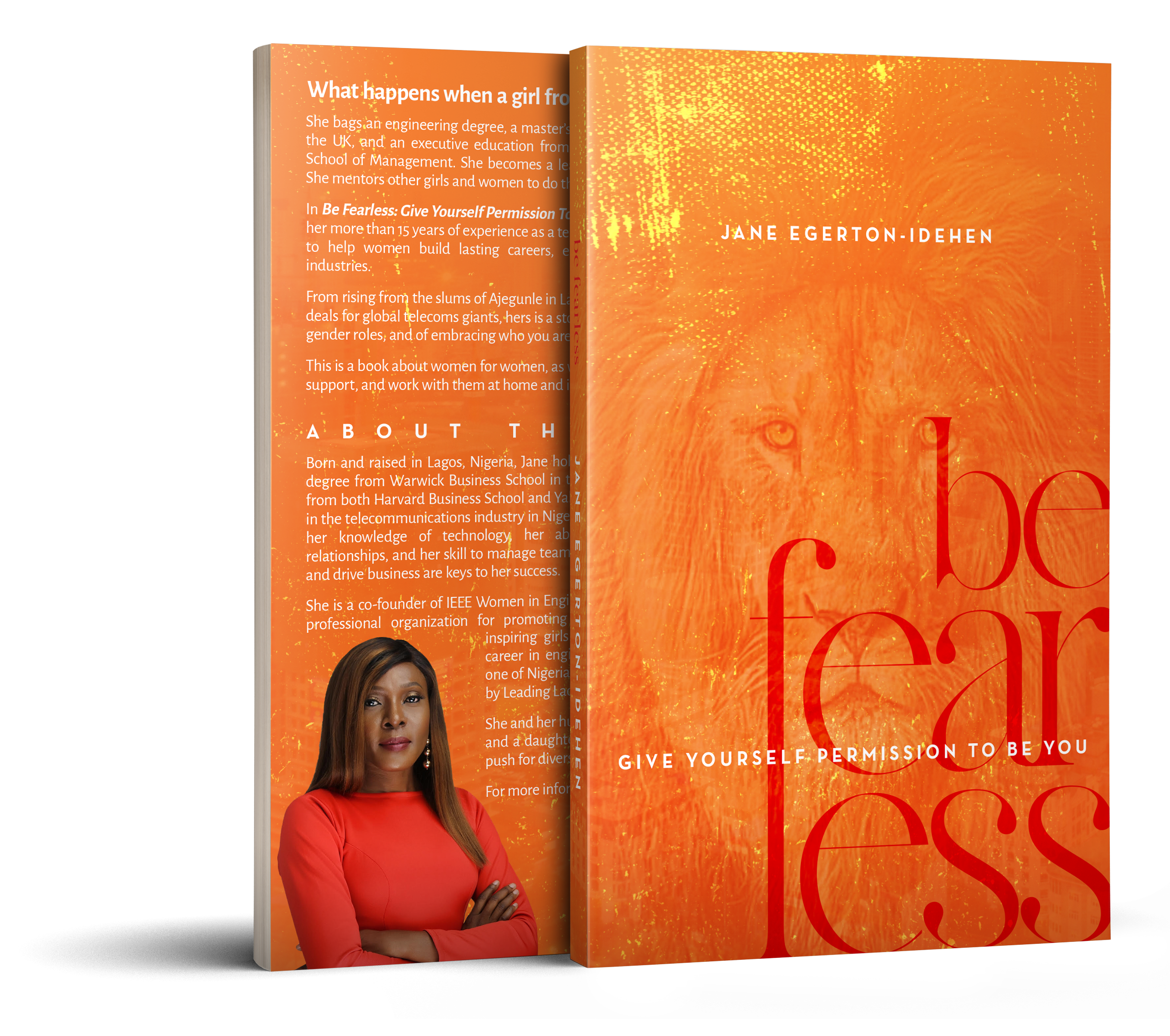 Jane Egerton-Idehen Launches 'Be Fearless, Campaign'