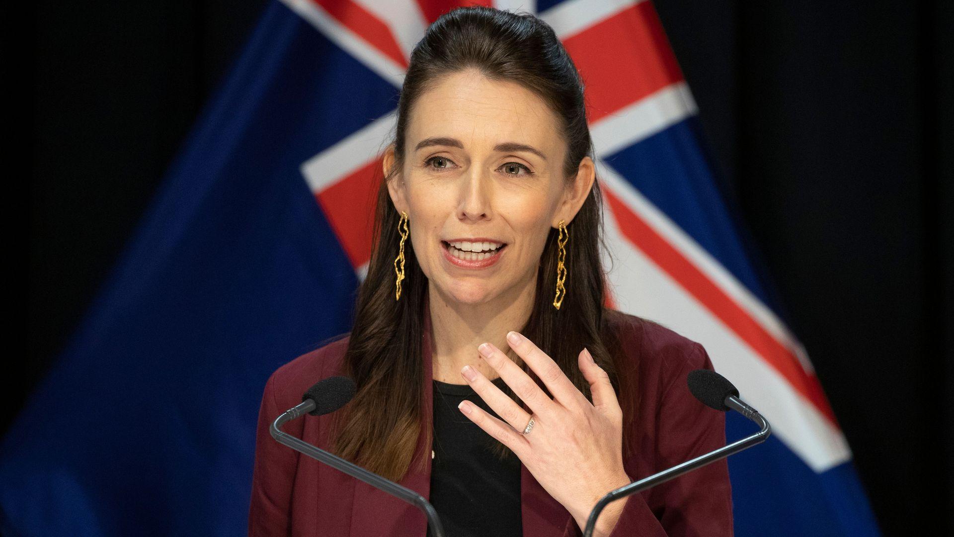 New Zealand Prime Minister, Jacinda Arden