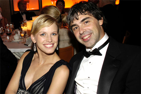 lucinda southworth and larry page