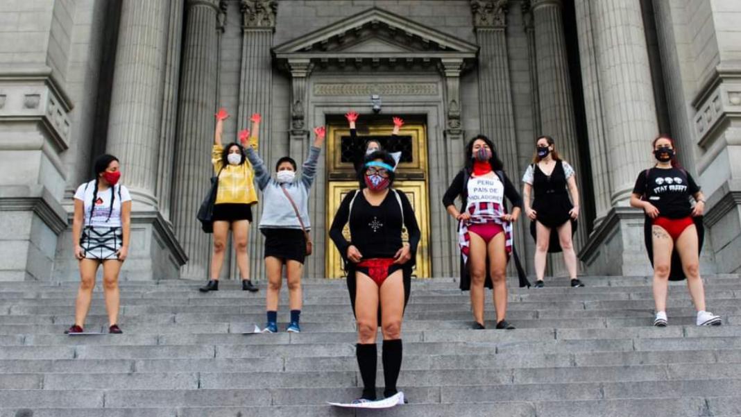 peru rape lace protest