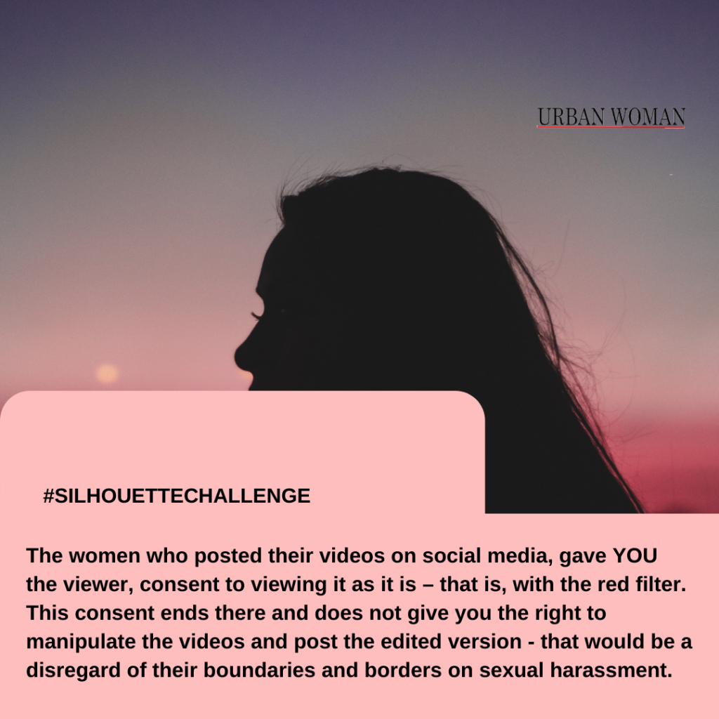 silhouette challenge and consent