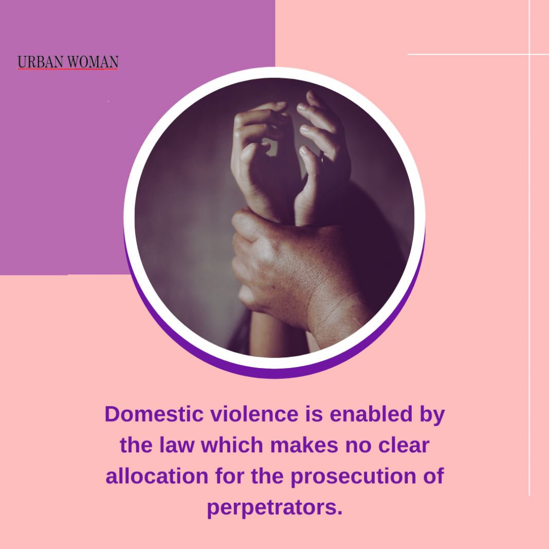 Domestic violence is enabled by our society