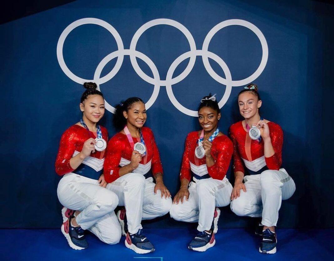 The USA gymnastic team
