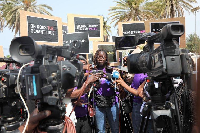 Women Protest Rape Culture In Senegal