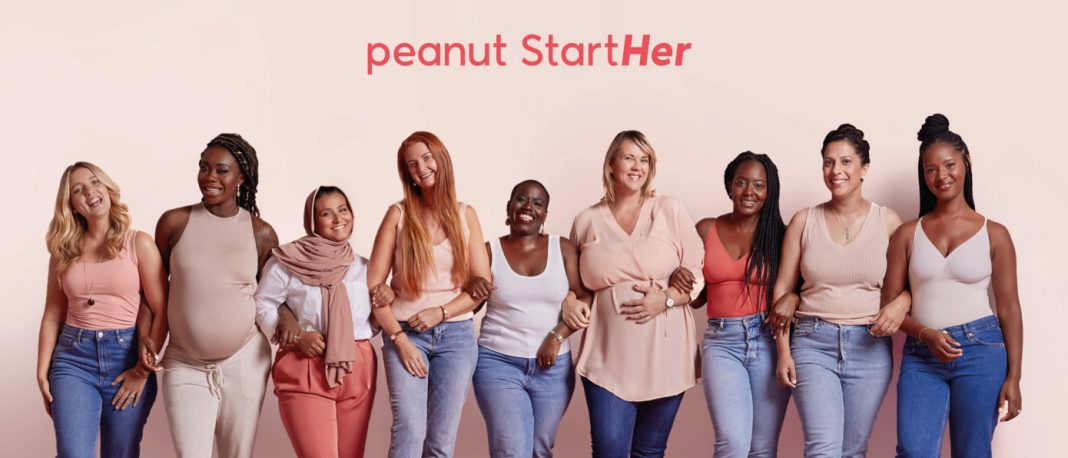 Peanut Launches $300,000 Micro Fund, StartHer Focused on Investing in Women-Owned Pre-Seed Stage Startups