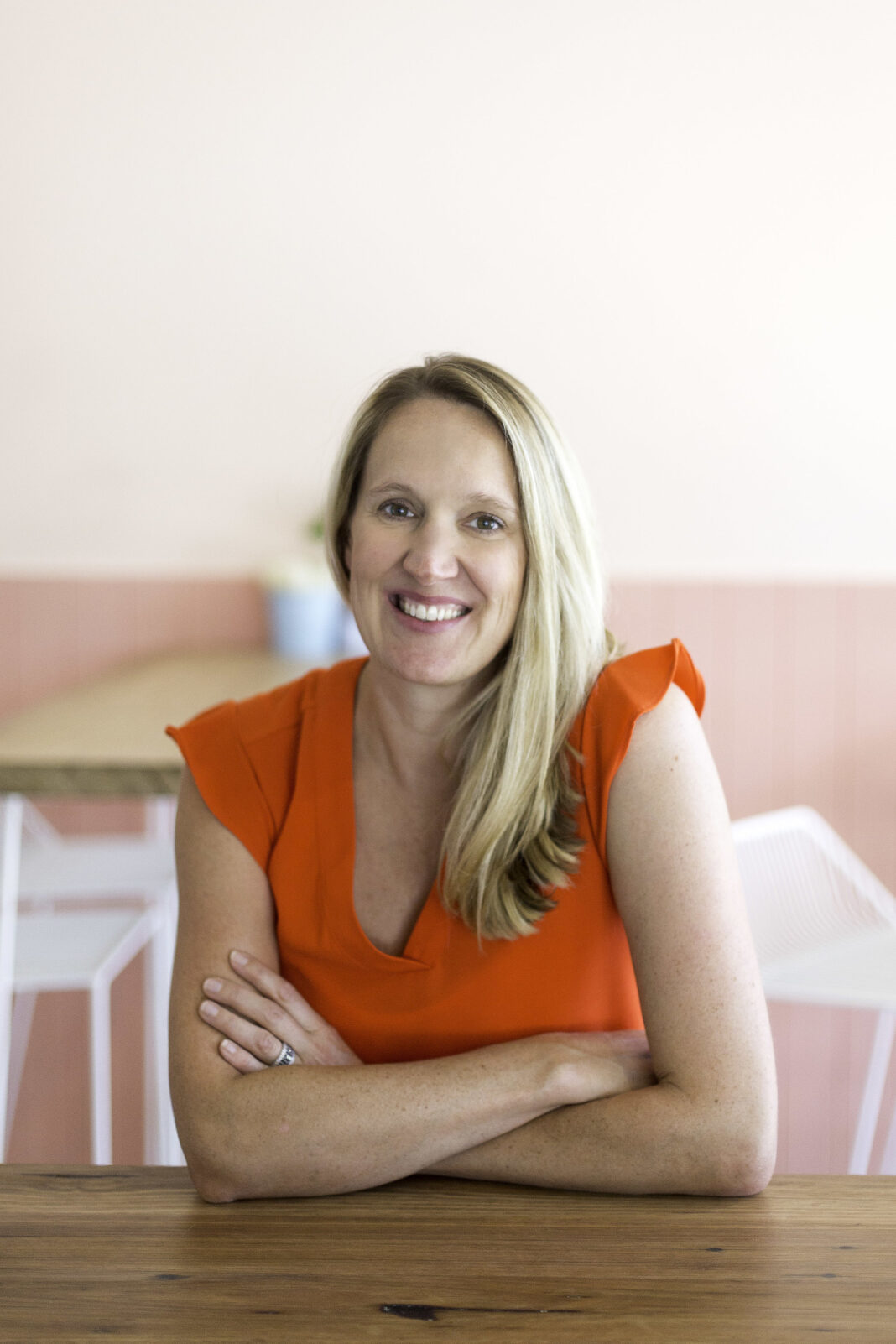 Kate Stewart founder of Stay Tray