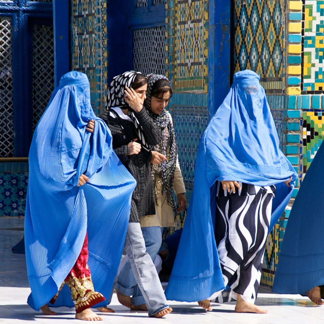 Taliban Instructs Afghan Women To Stay At Home