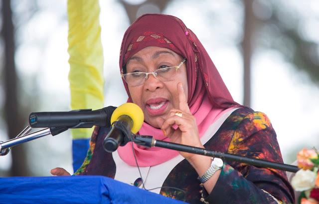 President of Tanzania, Samia Suluhu Hassan