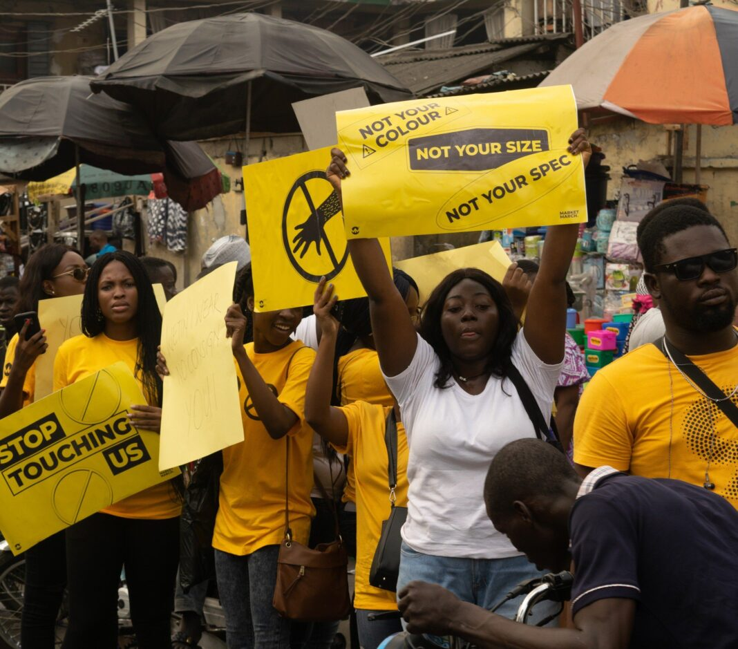 Yaba Market March - How Feminism Started in Nigeria